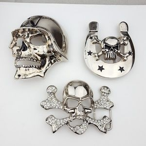 Skull Collection Buckles